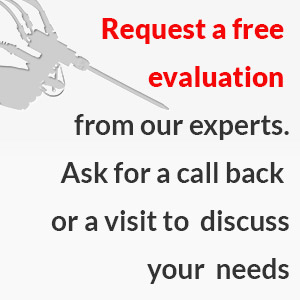 Request a free evaluation of your process from our experts. Ask for a call back or a visit to discuss you needs in person