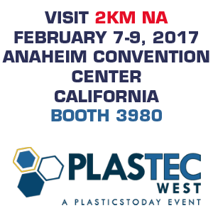 Visit 2KM NA at Plastec West 2017